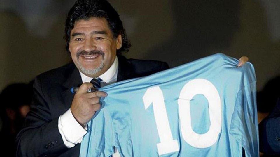 Maradona está feliz: festejó el triunfo de Frente de Todos y le dio la bienvenida al nuevo presidente