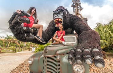 Un King Kong para la foto.