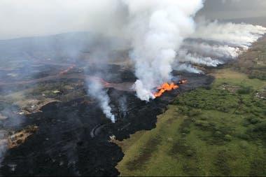 La erupción empezó el 3 de mayo
