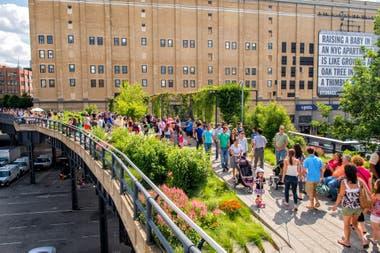El imperdible Highline en verano