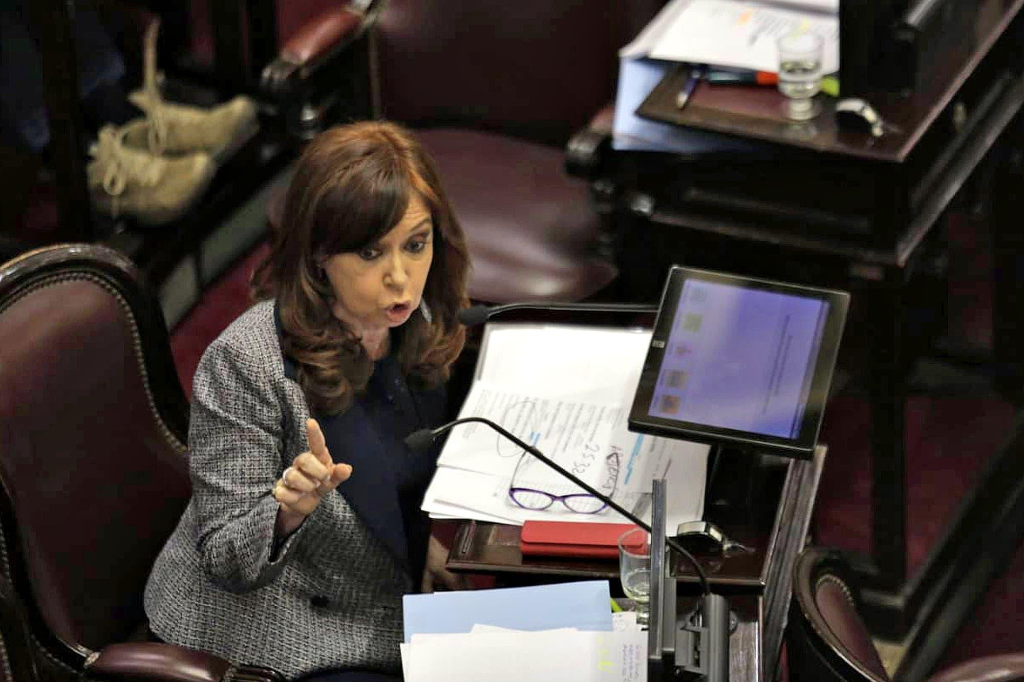 """Cristina Kirchner, en la sesión sobre el acceso a sus propiedades: """"¿Creen que los arrepentidos dicen la verdad?"""""""