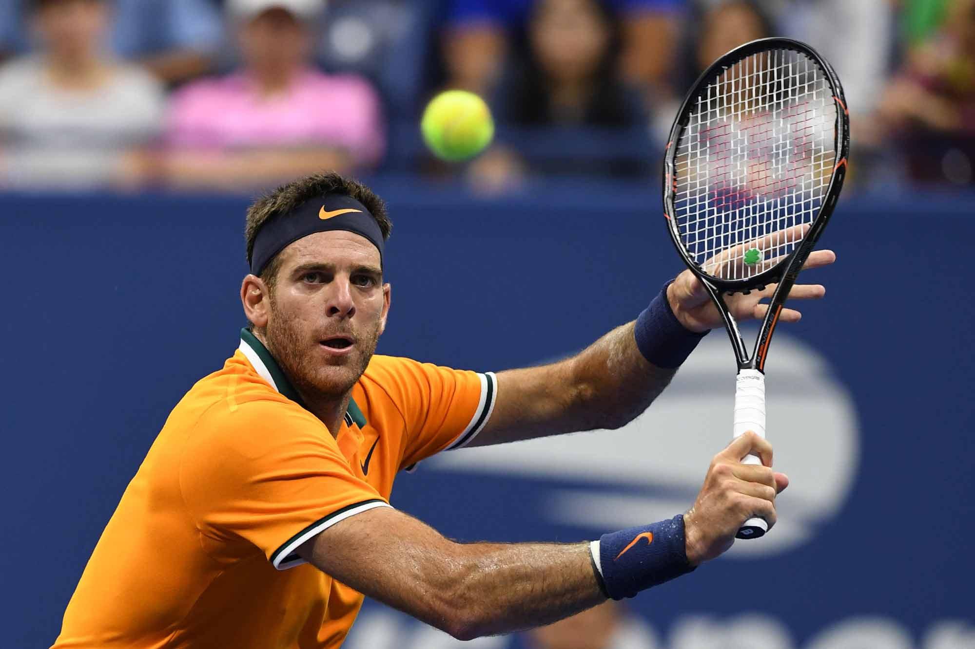 Juan Martín del Potro-John Isner, por los cuartos de final del US Open: horario y TV
