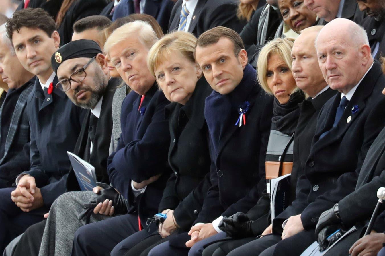 Macron pidió frente a Trump y Putin rechazar