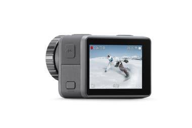 La cámara Osmo Action cuenta con una pantalla principal de 2,25 pulgadas