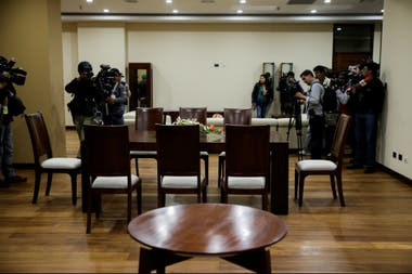 El piso 23, que ocupaba Evo Morales