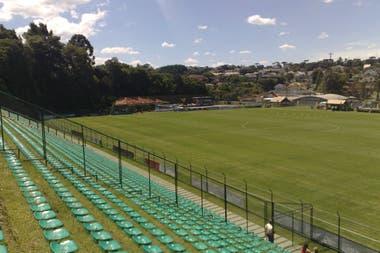 Estado Eco Janguito Malucelli, ubicado en la ciudad de Curitiba es el primer estadio ecológico de Brasil