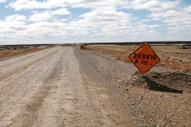 La ruta provincial 9 de Santa Cruz fue licitada durante el gobierno de Néstor Kirchner y pagada durante la gestión de Cristina Kirchner