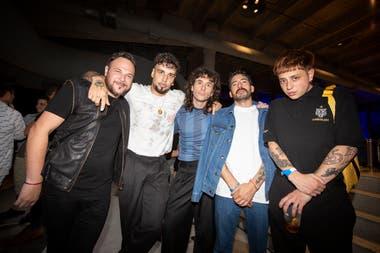 Guido Adler, Dante Spinetta, Raimondi, Orco y Paco Amoroso Fuente: VISA BAFWEEK