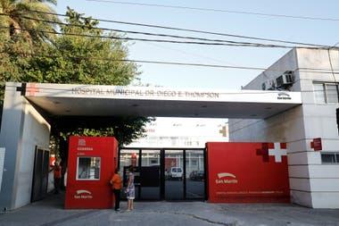 El hospital Thompson, en el partido de San Martín