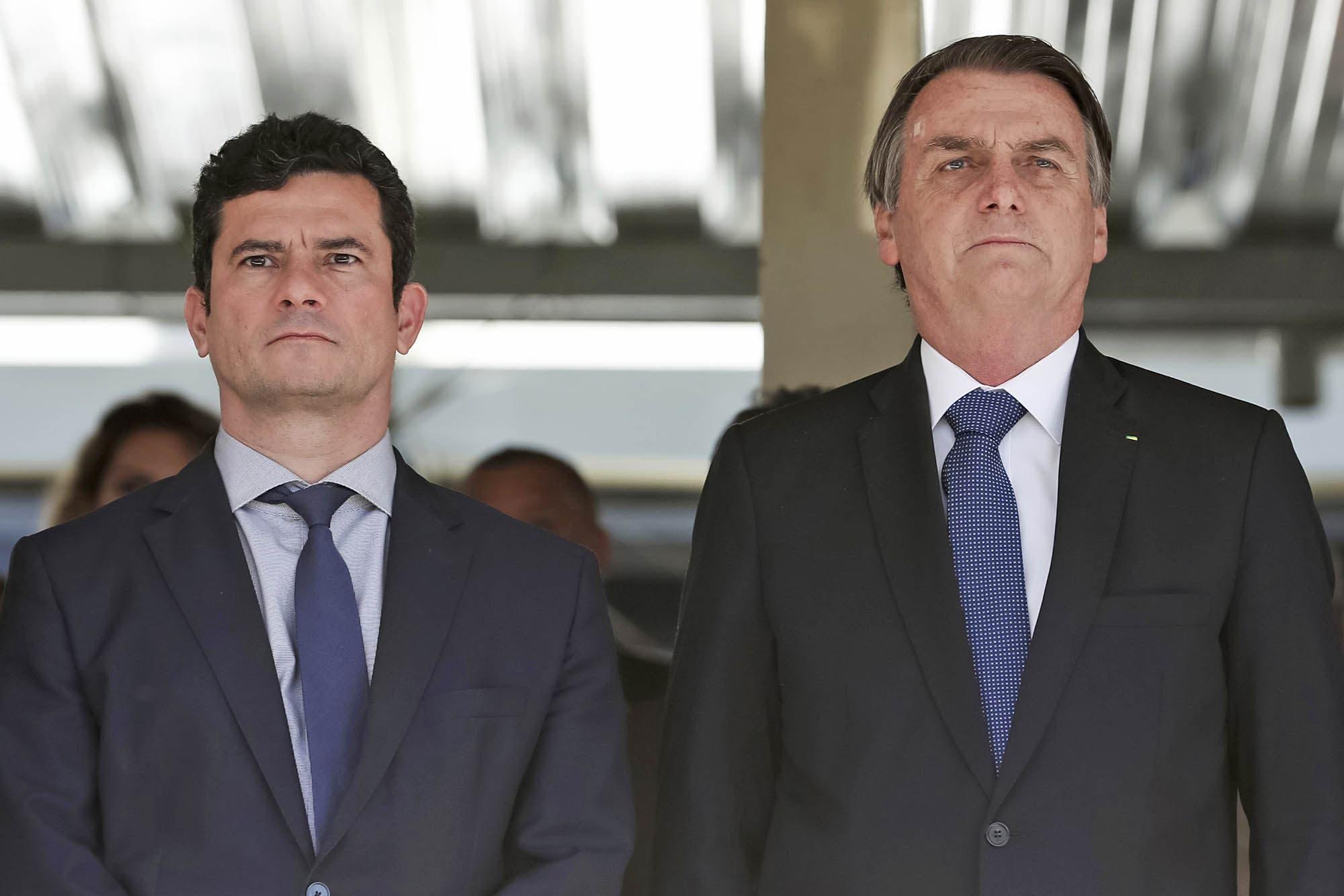 Brasil: Sergio Moro reveló los mensajes de Jair Bolsonaro que ...
