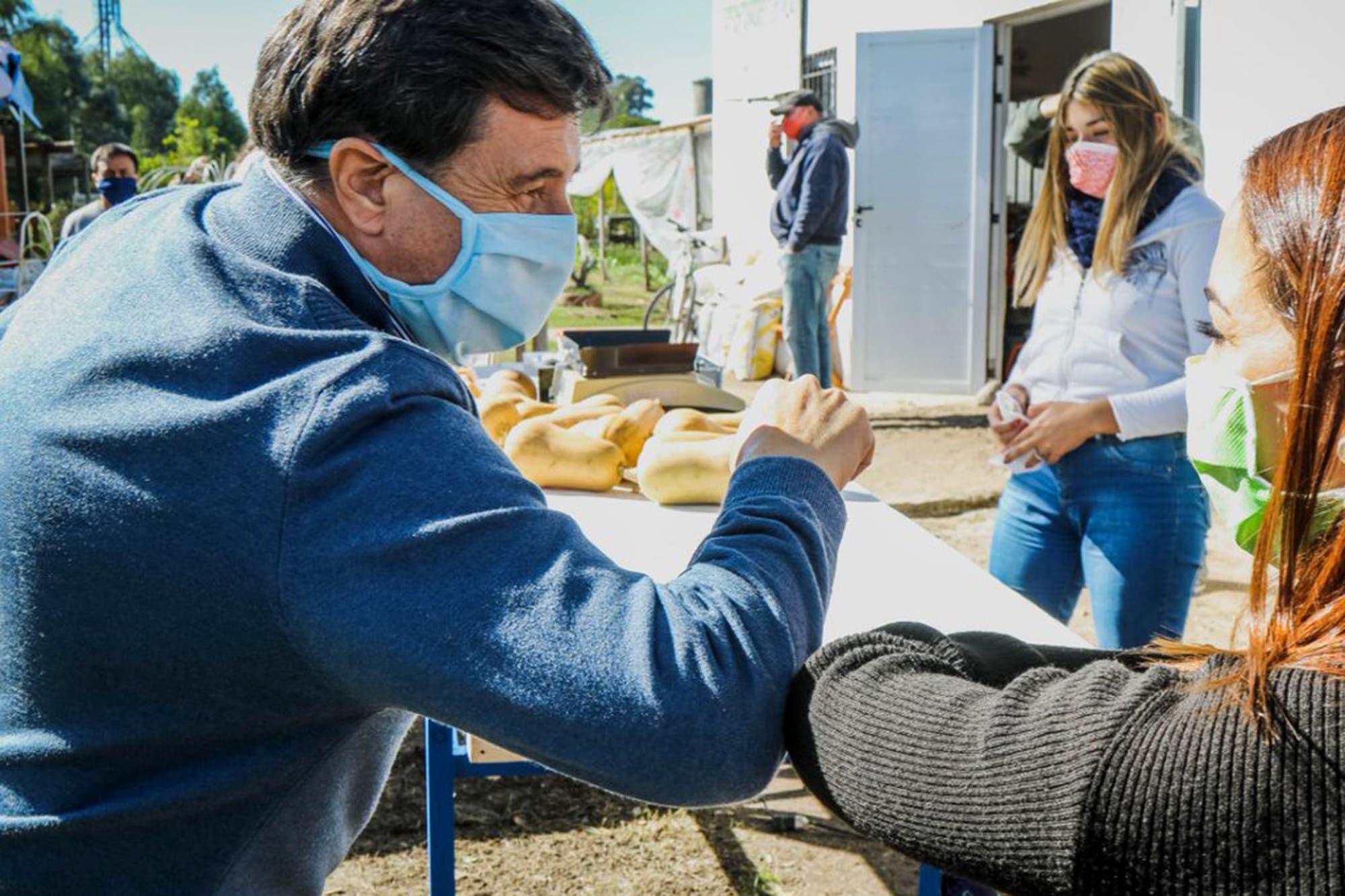 Coronavirus: Daniel Arroyo viaja a Buenos Aires y espera el resultado del test