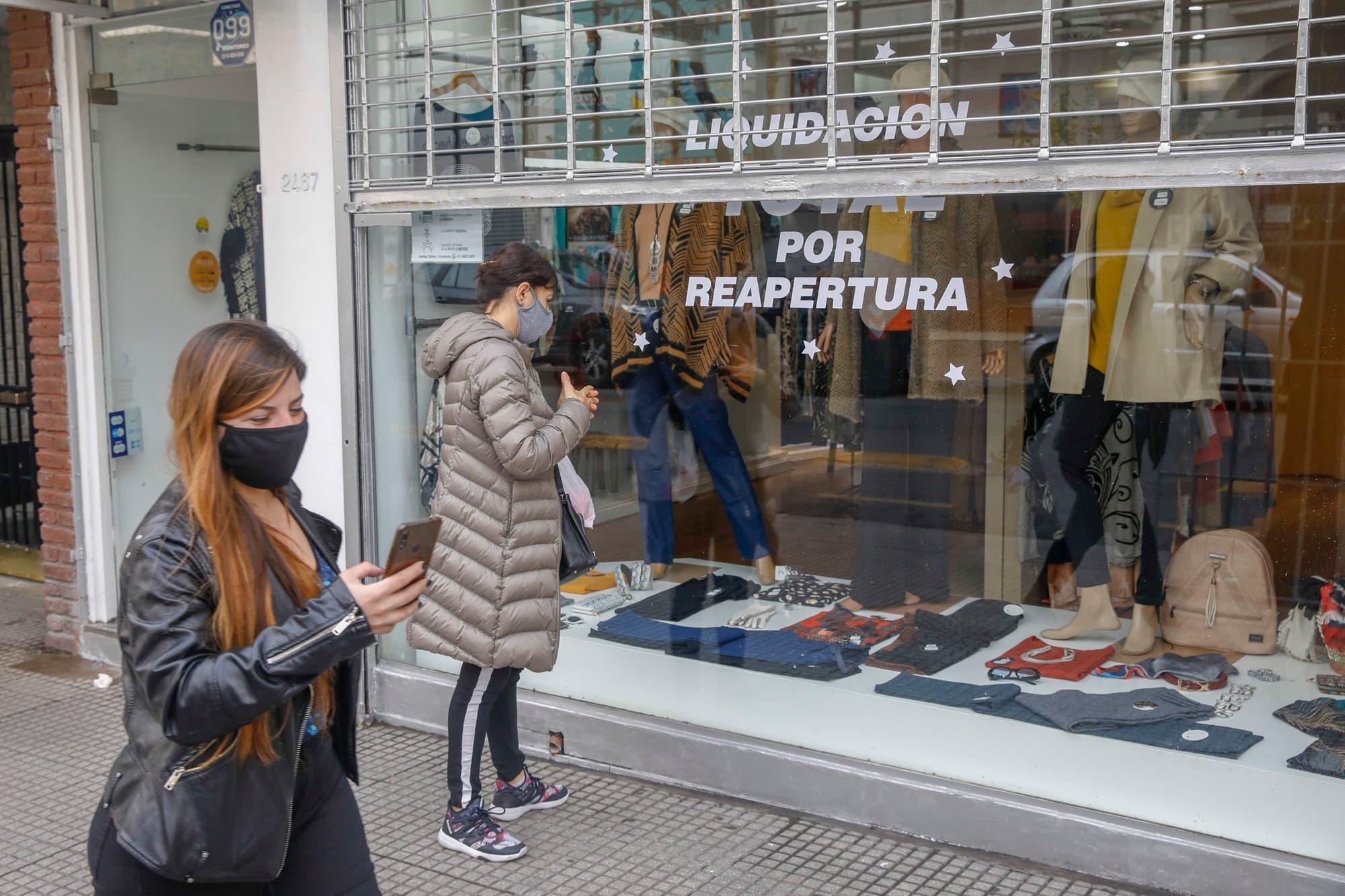 """Coronavirus en la Argentina: califican de positivo el debut de """"la cuarentena escalonada"""""""