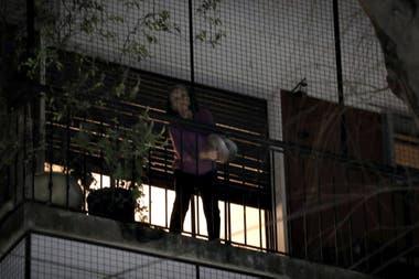 La protesta fue convocada a través de redes sociales; se escuchó con fuerza en algunos barrios de la ciudad de Buenos Aires