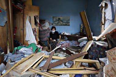 La magnitud de la destrucción por la explosión en Beirut, fue tal que la ciudad parece el escenario de un terremoto