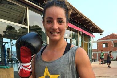 Jorgelina Guanini, de Necochea a Alicante; es campeona mundial supermosca de FIB.