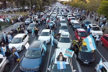 Banderazo 17A: miles de argentinos se manifestaron en contra de la reforma judicial