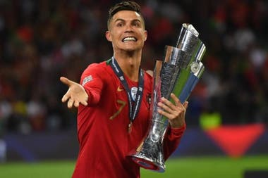 Cristiano Ronaldo, ganador con Portugal de la primera edición de la UEFA Nations League