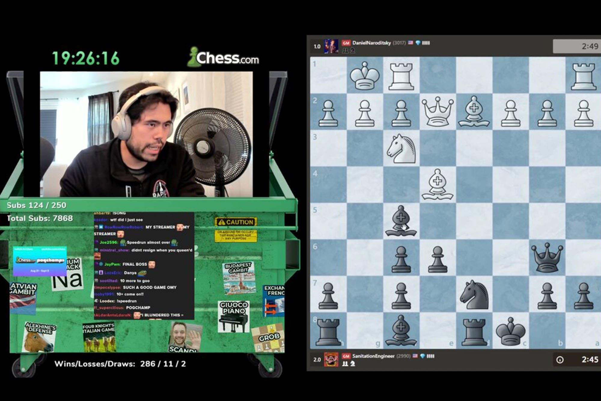La nueva fascinación por el ajedrez en vivo (sí, el ajedrez)