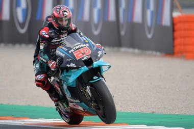 Fabio Quartararo will start fifth in Portugal;  The French boy was leading the competition but was far from Joan Mir, the now loose leader of the MotoGP World Championship, in the absence of this single grand prize.