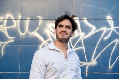 Agustín Iannone fue protagonista de la última versión de Hair y de Identidad testimonial