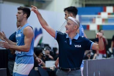 Gabriel Piccato, el entrenador que reemplaza a Sergio Hernández, sostiene un modelo de equipo que pretenden sostener en todas las categorías