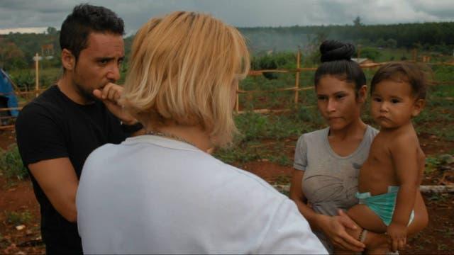 Martín Parlato y Patricia Ocampo recorrieron yerbales en Misiones