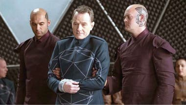 "Bryan Cranston, en el episodio ""Impossible Planet"""