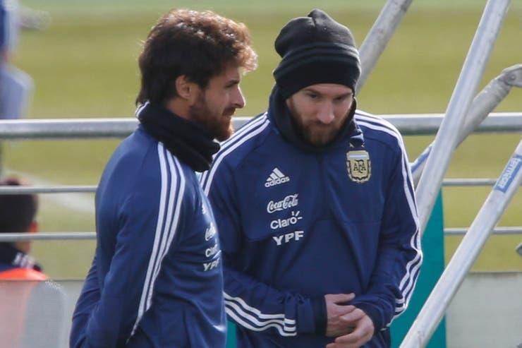 Messi confía en el trabajo de Pablo Aimar en las Juveniles