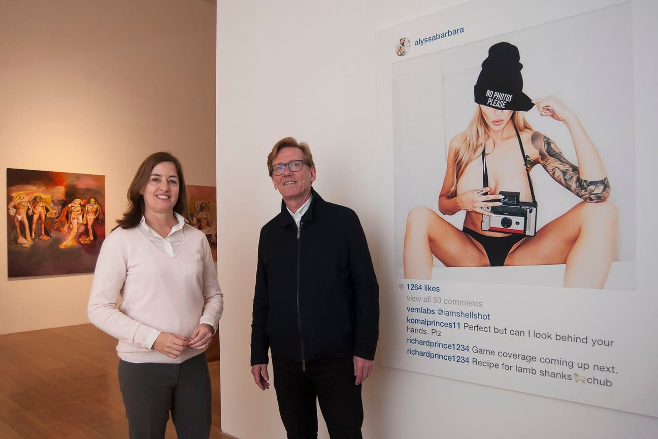 La muestra fue curada por Victoria Giraudo, jefa de Curaduría del Malba, y Gunnar B. Kvaran, director del museo Astrup Fearnley de Oslo, de donde provienen las obras.