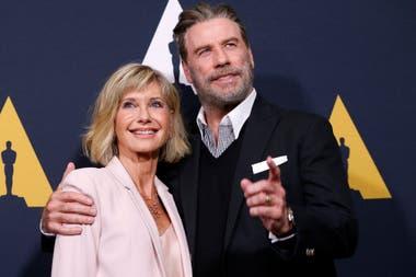 El Divertido Reencuentro De John Travolta Y Olivia Newton John A 40