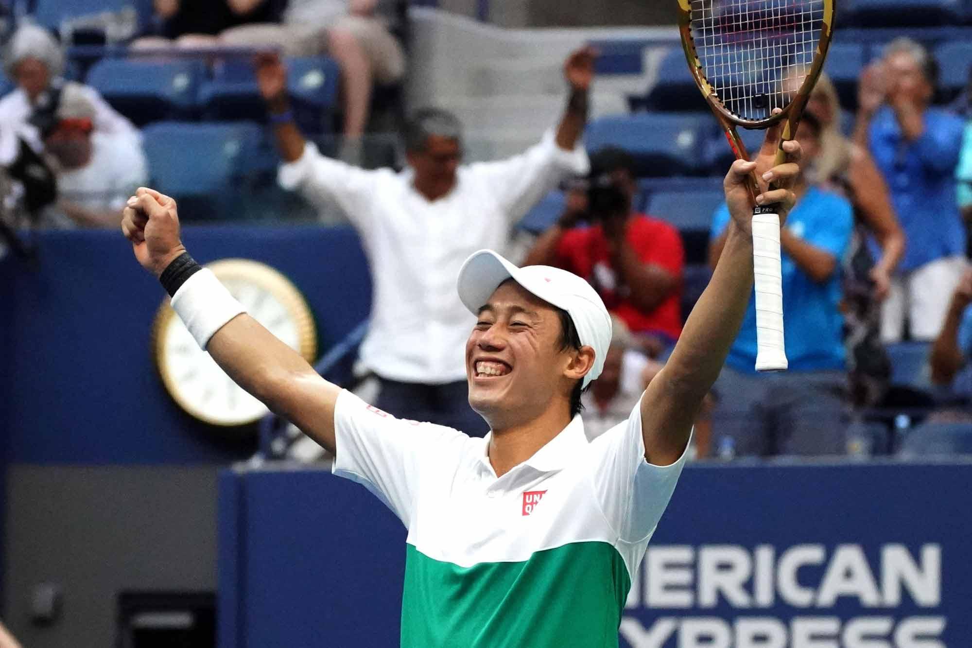 Kei Nishikori se vengó de Marin Cilic e hizo historia en el US Open