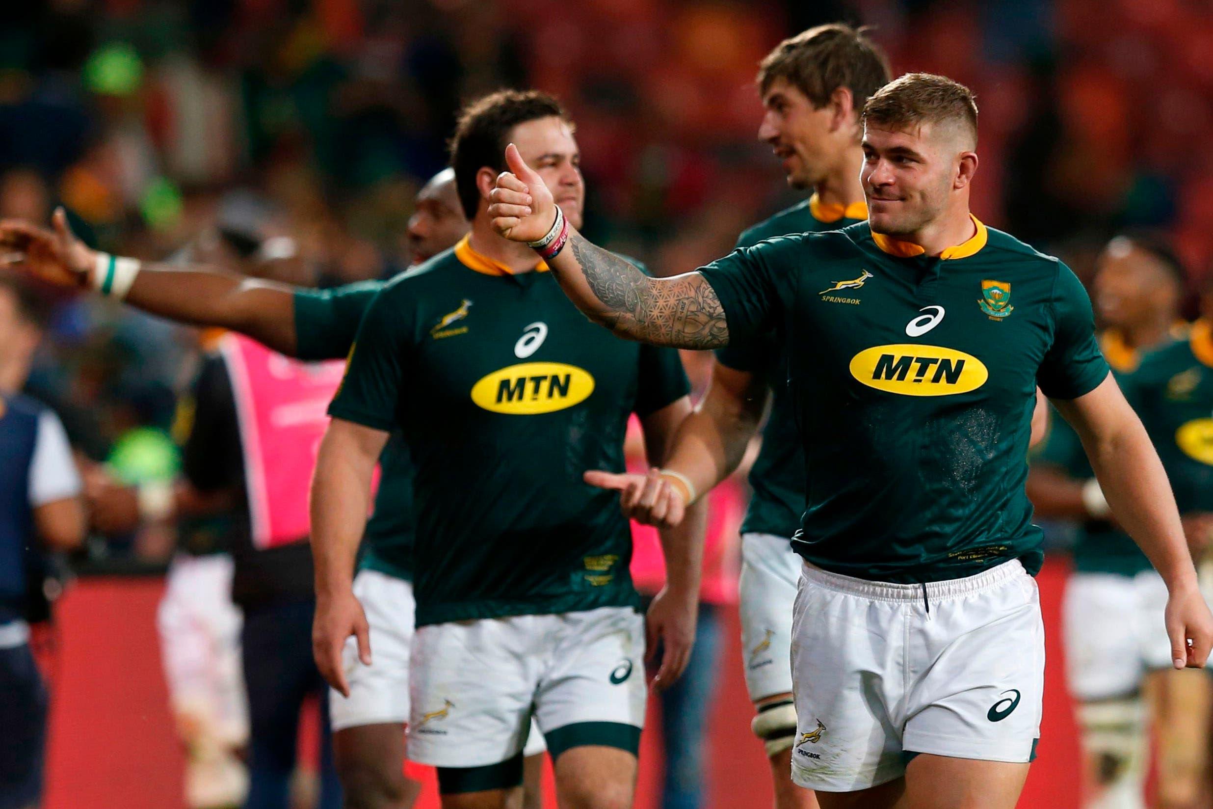 Rugby Championship: Sudáfrica le ganó a Australia y quedó a la espera del batacazo argentino en Vélez