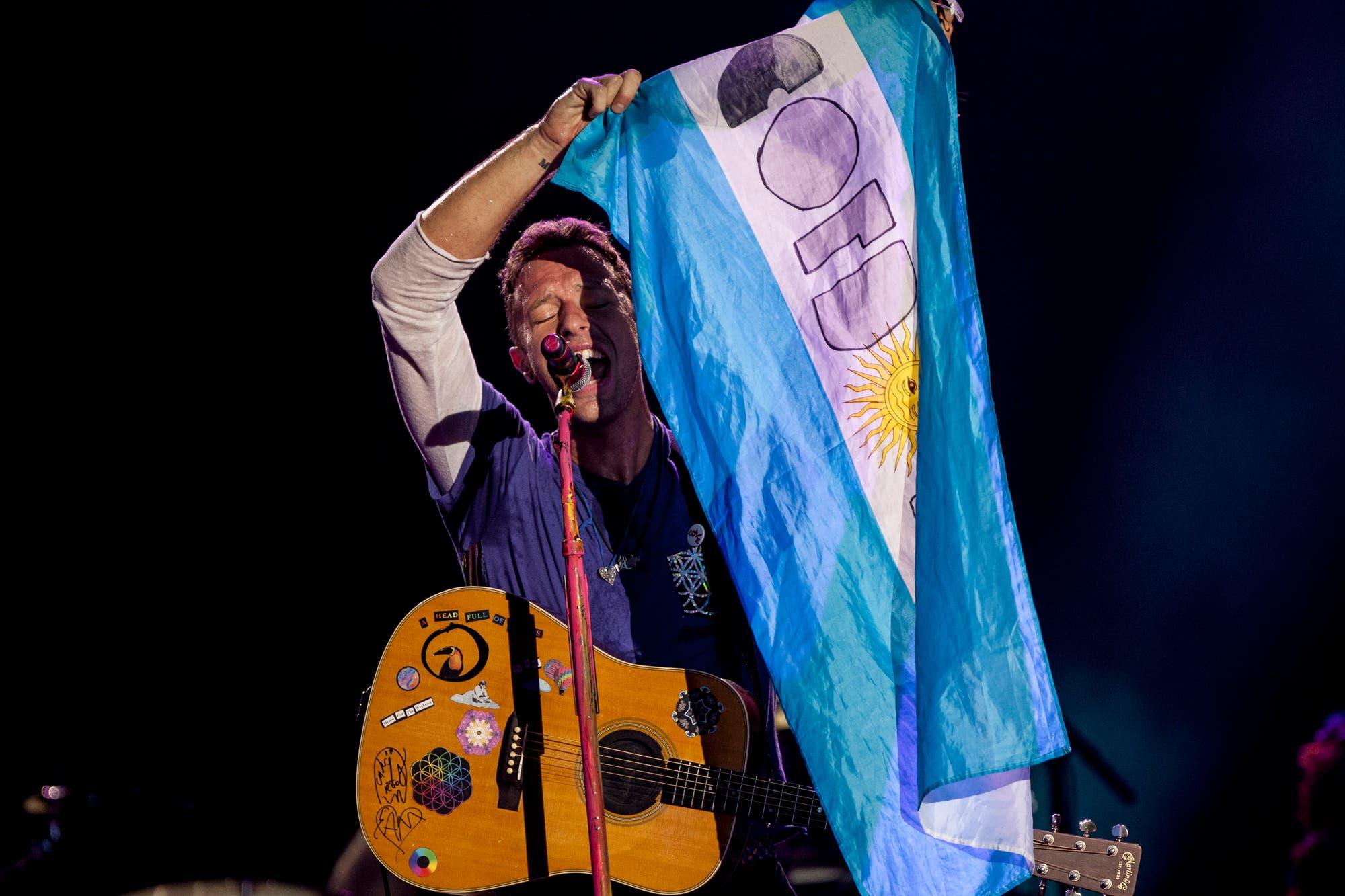 Coldplay lanza Live in Buenos Aires, un registro de su show en el Estadio Único de La Plata