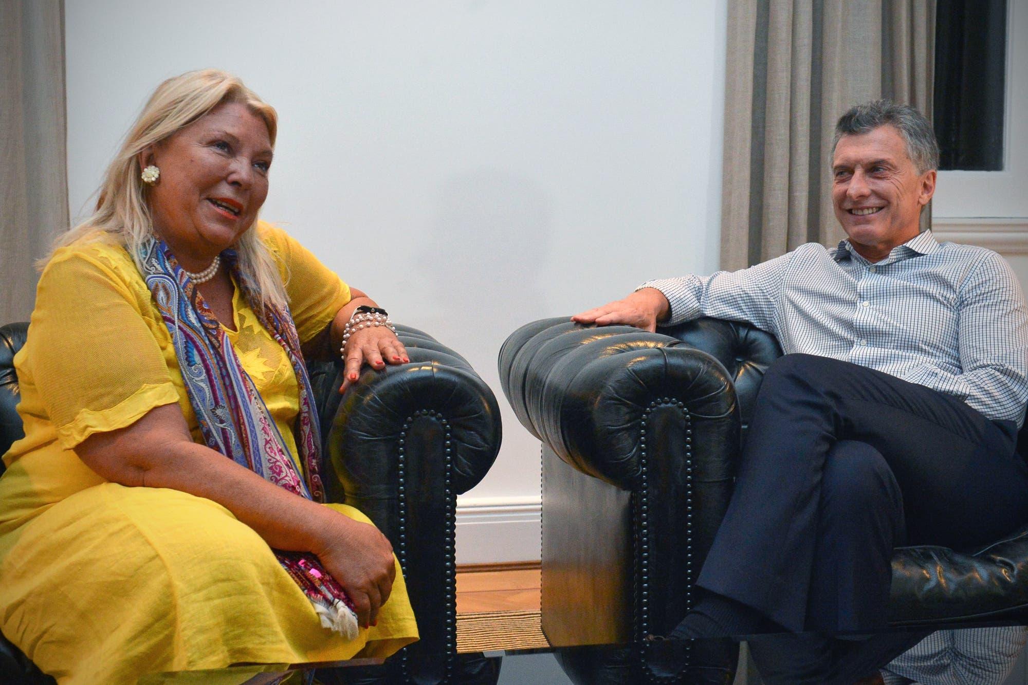 Macri felicitó a Carrió en su cumpleaños y llevó distensión a la relación entre ambos