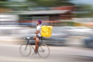 El delivery es otro de los sectores que seguirá funcionando durante la cuarentena total