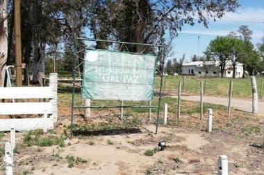 Uno de los terrenos militares vendidos en Ordóñez, provincia de Córdoba