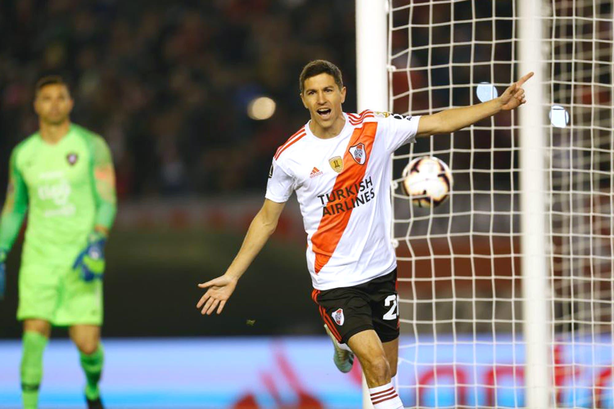 River-Cerro Porteño, por la Copa Libertadores: el equipo de Marcelo Gallardo gana con un polémico penal