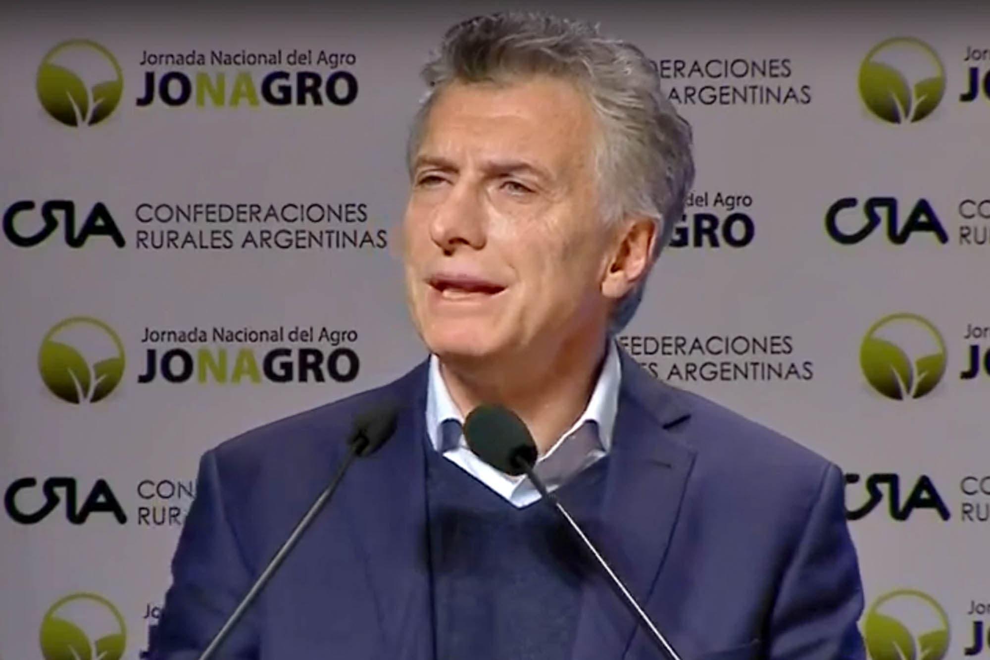 """Mauricio Macri: """"Hay que dar pelea, yo estoy convencido de que podemos"""""""