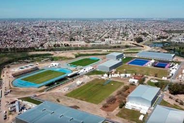 El parque olmpico que se construy en el sur de la ciudad demand una inversin de 1757 millones