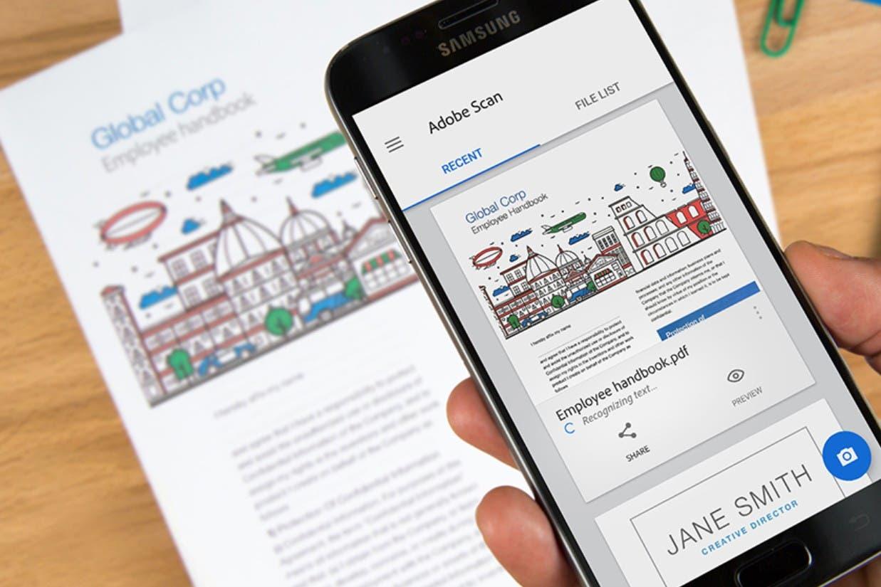 Home office: cómo escanear documentos en PDF gracias a la cámara del teléfono