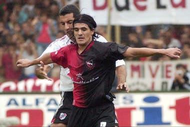 Ortega le marcó tres veces a River: dos en 2005 y una en 2006, todas con Newells