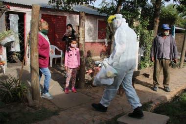 Chaco es una de las provincias más azotadas por la pandemia