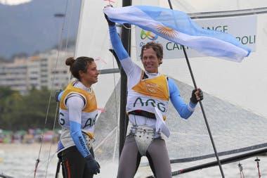 Santiago Lange, uno de los deportistas olímpicos que habían demandado públicamente la autorización para entrenarse.