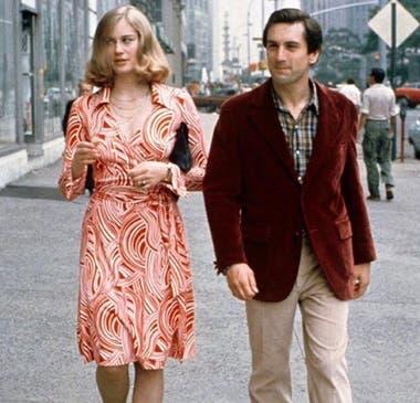 Cybill Shepherd y Rober De Niro en Taxi Driver