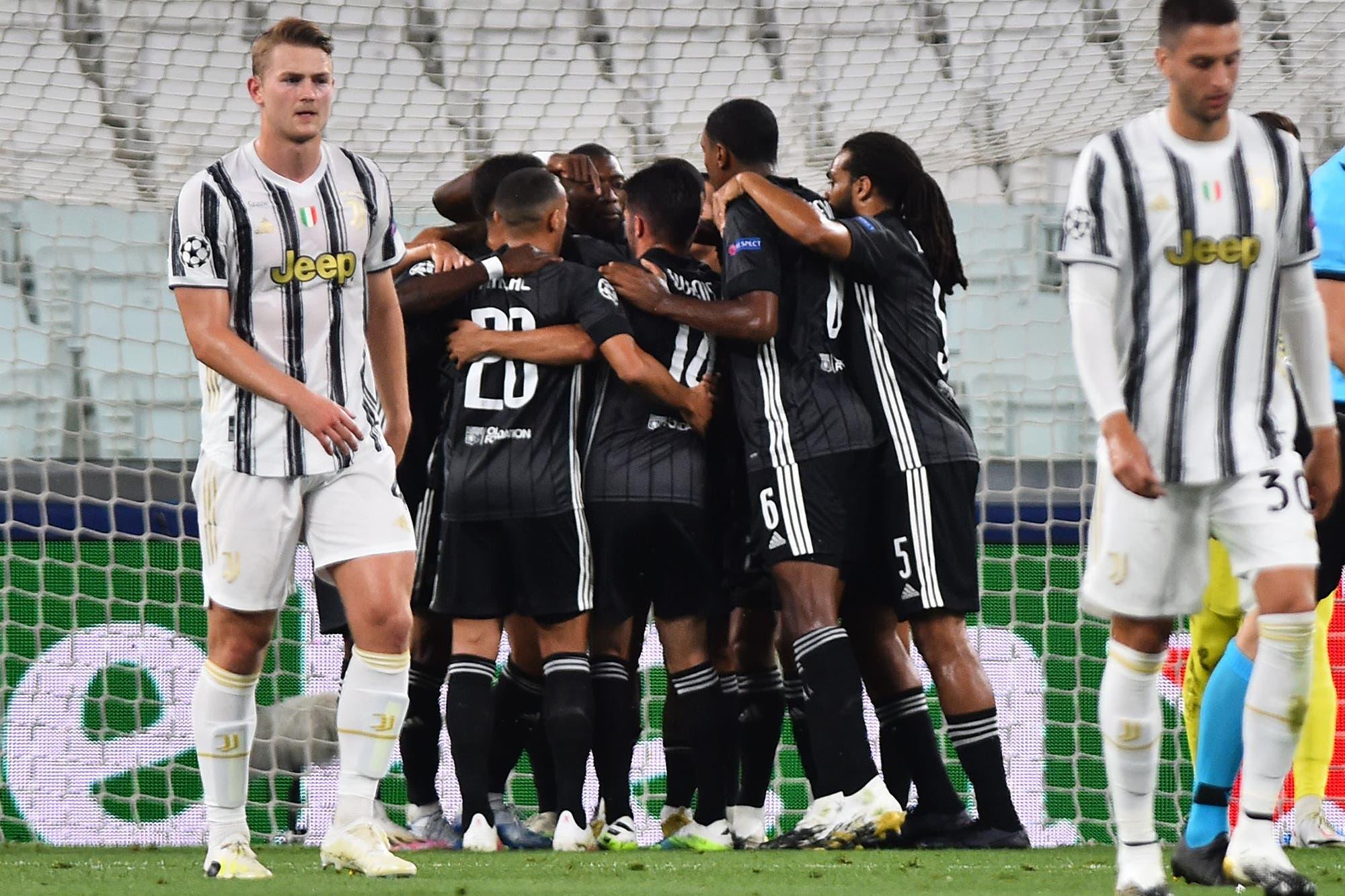 Juventus, eliminado de la Champions League: ganó, pero no le alcanzó y Lyon se clasificó a los cuartos de final