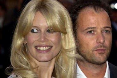 Claudia Schiffer junto a su esposo, Matthew Vaughn, con quien se casó en 2002 y fue madre de tres hijos