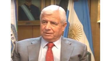 El general retirado Ernesto Bossi, que oficiará de anfitrión de la reunión sobre seguridad