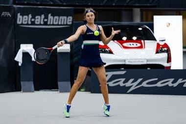 Eliminada en Linz, Podoroska cerró un año de ensueño en el que llegó a las semifinales de Roland Garros