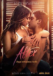 Afiche de After: Aquí empieza todo
