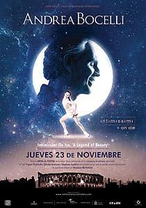 Afiche de Andrea Bocelli: Intimisimi on ice